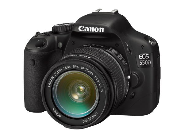 Canon EOS 550D w EF-S 18-55mm